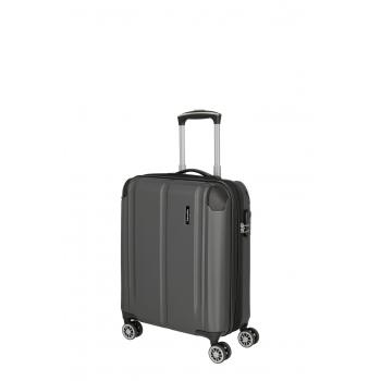 CITY 4-kółkowa walizka S poszerzana